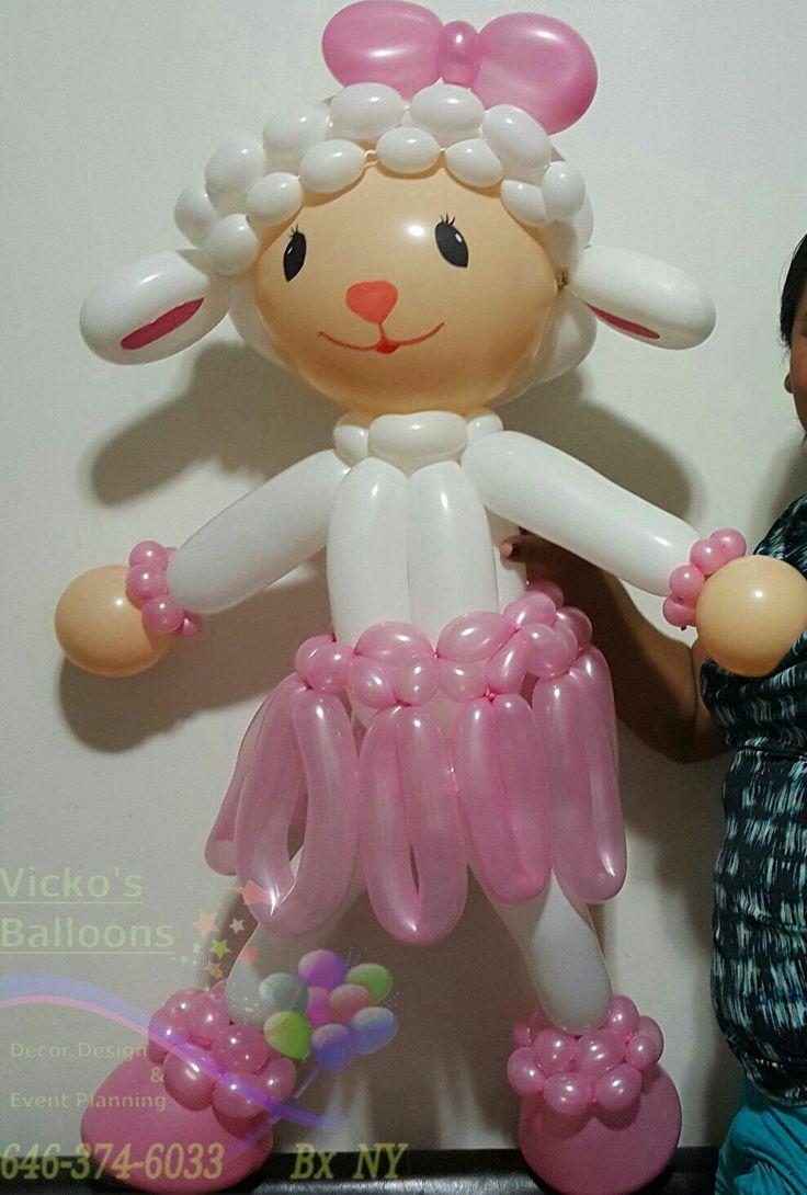 Lambie made  Vicko's Balloon NY  Doc Mcstuffins