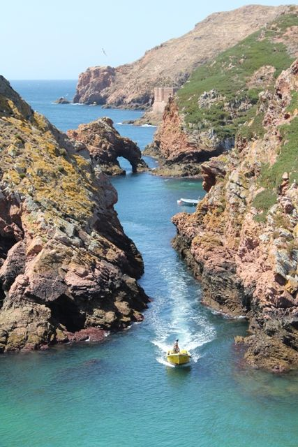 Berlengas islands near #Peniche #Portugal