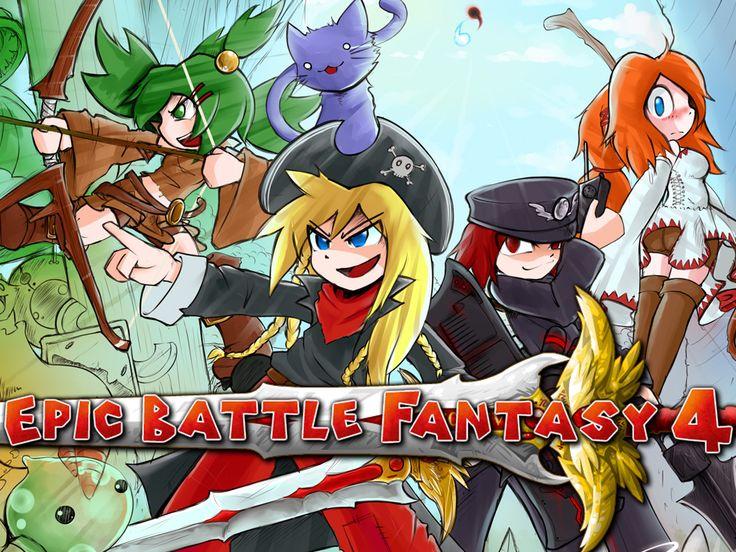 epic battle fantasy deviantart | Epic Battle Fantasy 4 is 60% off by KupoGames on DeviantArt