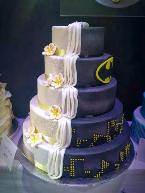 ThinkGeek - Google+ - Wedding cake by day, superhero cake by night:…