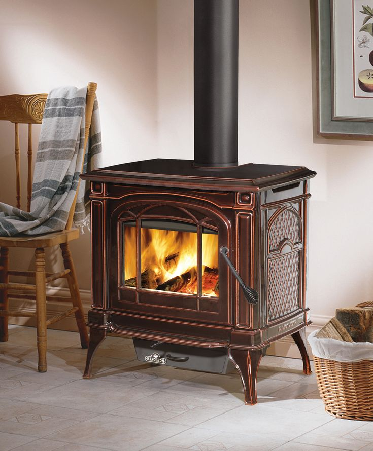 The Napoleon Banff 1100 Wood Stove features advanced wood burning technology that provides you with the cleanest, most efficient heating experience.