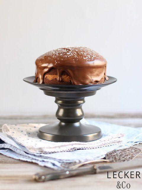 Vintage Kokos Schokoladen Kuchen LECKER uCo Foodblog Foodfotografie und Foodstyling in N rnberg