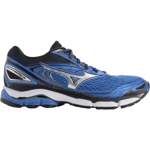 Mizuno™ Men's Wave Inspire 13 Running Shoes (Blue/Silver, Size 7.5) - Men's Running Shoes at Academy Sports