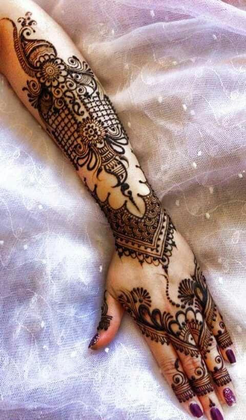 Beautiful henna work