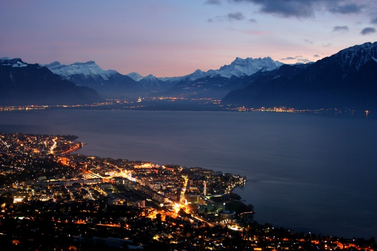 how to get from geneva to montreux