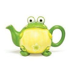 Frog teapot: