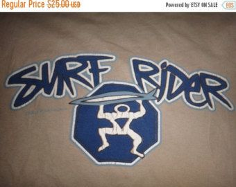Surf Rider Screen Print by ryankapp on Etsy