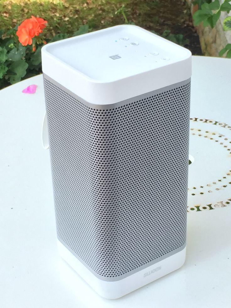 enceinte audio portable sweex avsp3200 20w connexion bluetooth nfc ou line in par c ble sur. Black Bedroom Furniture Sets. Home Design Ideas