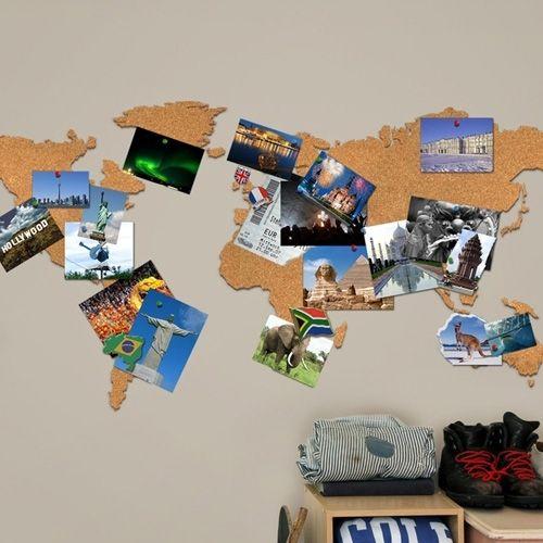 Luckies Wereldkaart Kurk