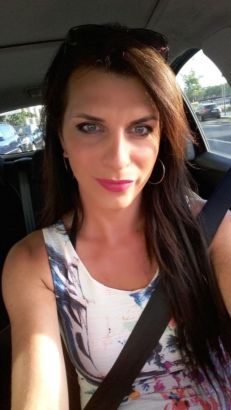 Crossdresser Transgender Ellexa Tv Summer Dress Wedge