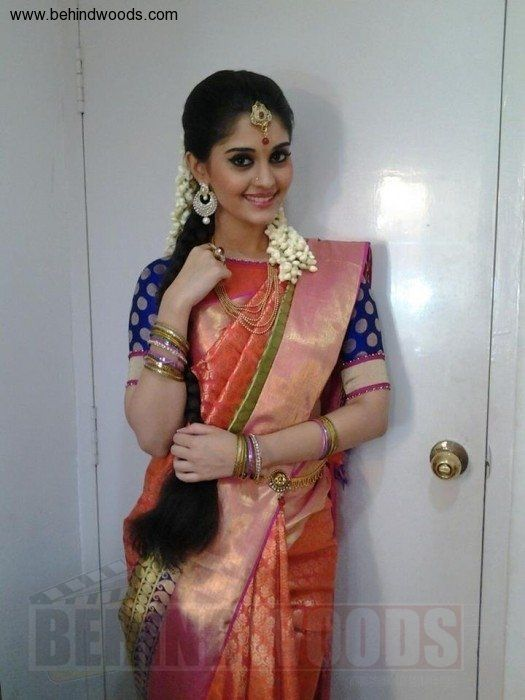 Picture 1195980 Tamil Actress Manishajith In Silk Saree