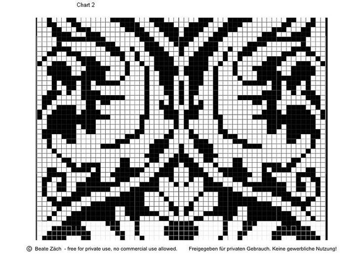 Жаккардовые схемы в стиле барокко. Обсуждение на LiveInternet - Российский Сервис Онлайн-Дневников
