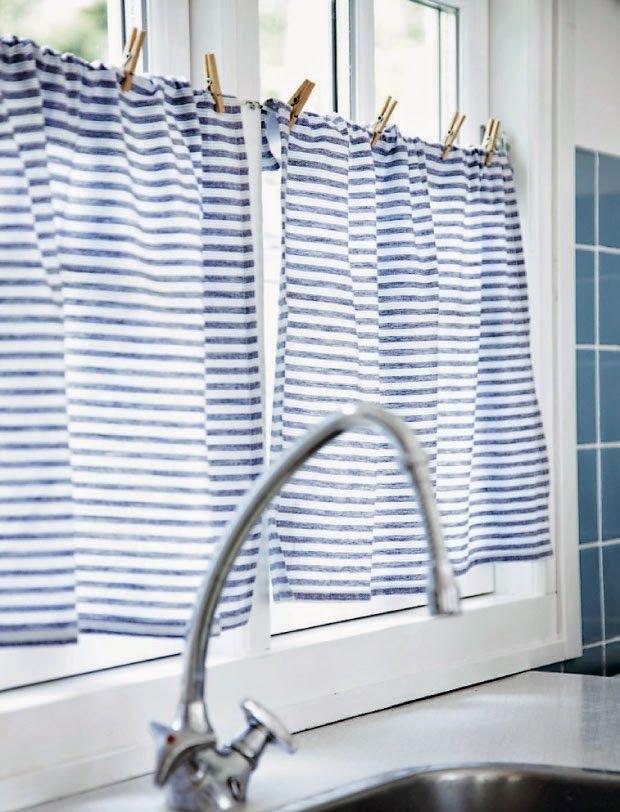 25+ parasta ideaa Pinterestissä Bad gardinen - gardine für küche