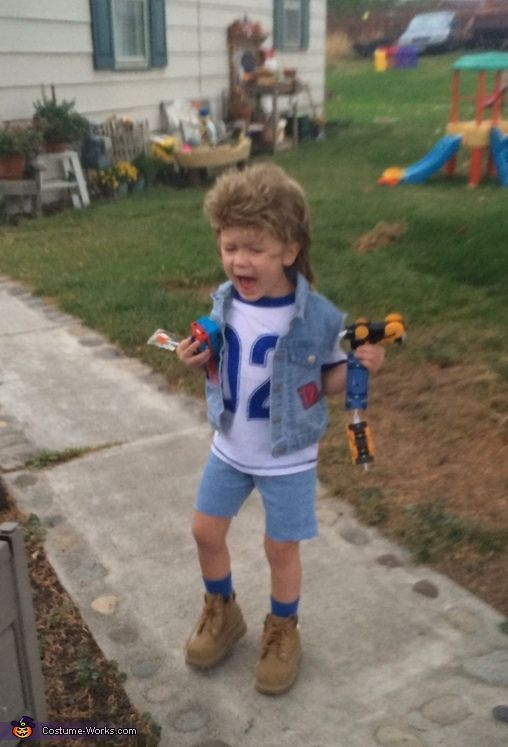 Tandi: My awesome son Mason Dean! He treats life like a gardenhe digs it! Just like Joe Dirt. And he loves a good laughso Joe Dirt was perfect for him! So...