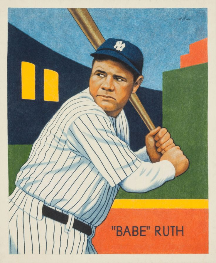 Babe ruth contract-3508