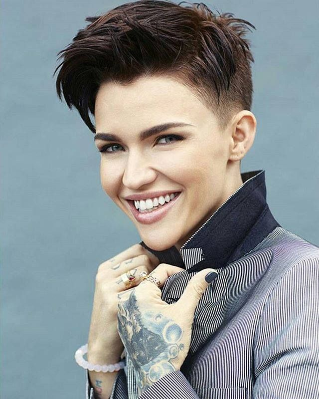 1 9 Ruby Rose HairstylesSwag HairstylesShort HairstyleGirl HaircutsPixie HaircutsHair