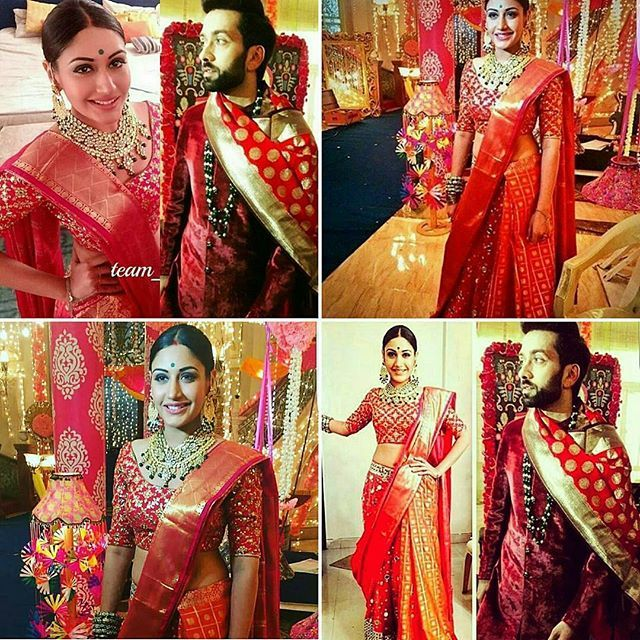 《Ishqbaaz》 ANIKA'S LOOK FOR SHITIA WEDDING ..NICE BUT SHOULD CHANGE THE HAIRSTYLE