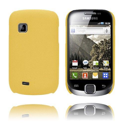 SuperGrip (Keltainen) Samsung Galaxy Fit Suojakuori