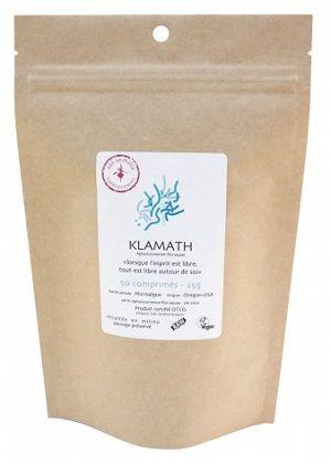 Algues Klamath Crues en comprimés Bio - Super Aliment Biologique