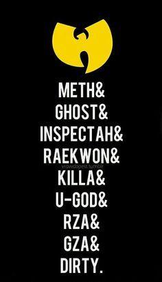Wu on Pinterest | Wu Tang Clan, Wutang and Hip hop