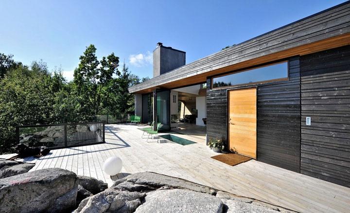 Trekronekabin | Ryfylke, Norway | Arkitekt Tommie Wilhelmsen