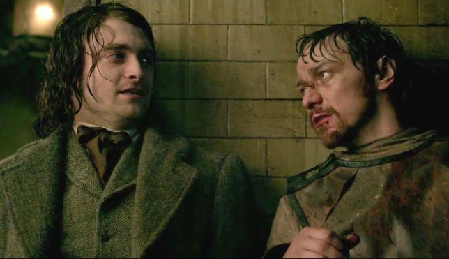 Daniel Radcliffe e James McAvoy ci presentano il primo trailer di Victor Frankenstein