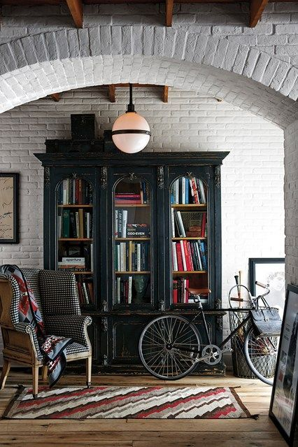Discover bookshelf ideas on HOUSE - design, food and travel by House & Garden - including this bookshelf inspired from a nineteenth-century design.