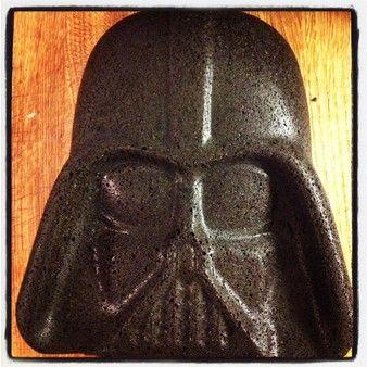 Darth Vader kakeform. Morsom kakeform fra Star Wars.