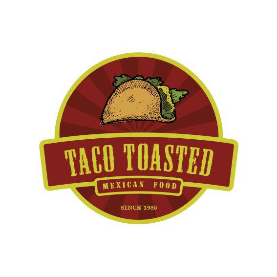 Logotipo comida mexicana especialidad en tacos