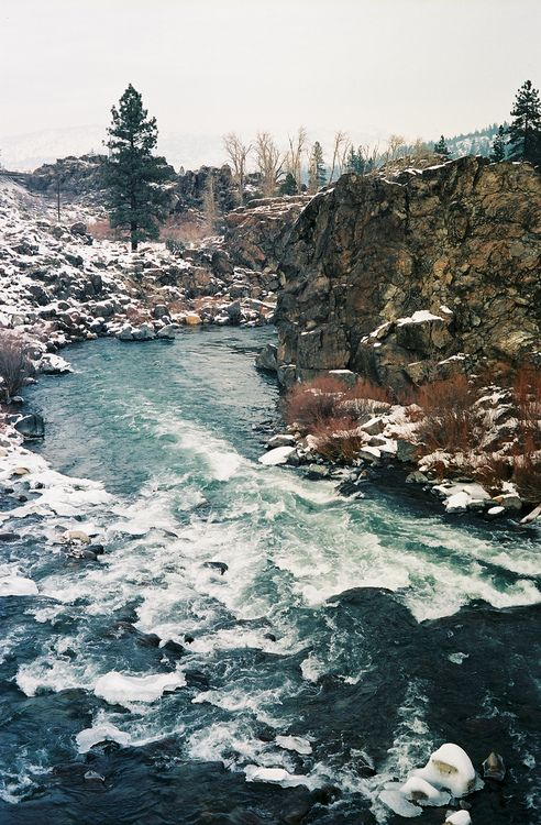 The Truckee River in January. (by CodySLR)