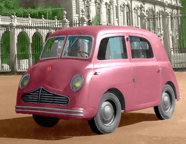 Moretti Electric Seven-seater 1944 ~ Italian microbus
