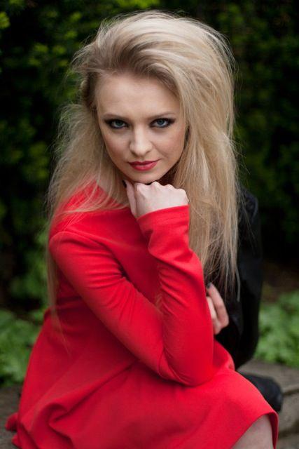Lady in red :) Sangria dress by Melismee We love it!