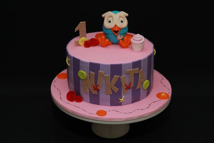 giggle and hoot cake instructions