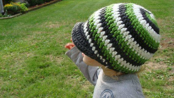 Swirly Baby Helix Hat with (optional) Levi Peak