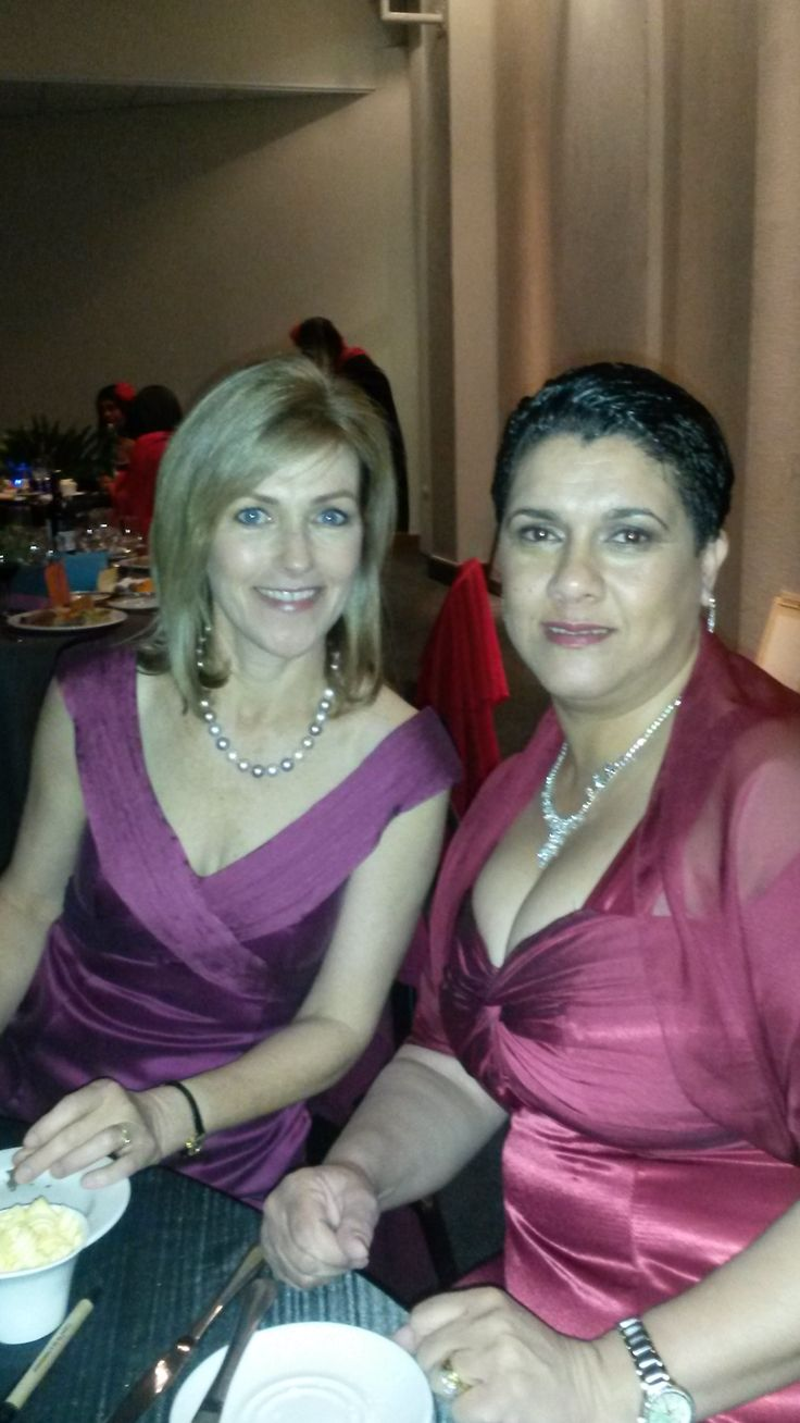 Sh'Zen MD and Regional Sales Manager looking beautiful at the Conference dinner