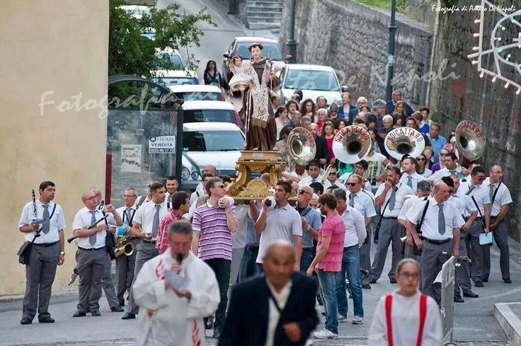 Processione Sant'Antonio. Salza Irpina (AV) - Italy. 2014.