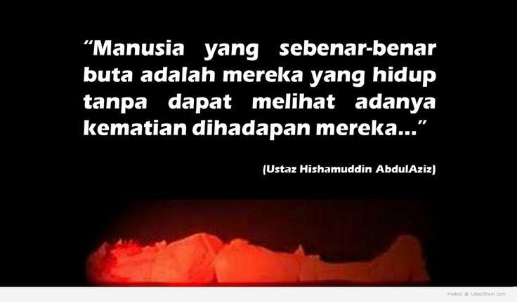 Tanda-Tanda Kematian Menurut Islam. 100 Hari Sebelum Hari Kematian. Ini adalah tanda pertama dari Allah SWT kepada hambanya dan hanya akan disadari oleh...