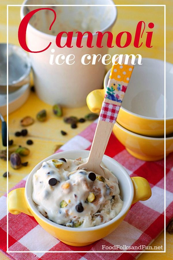 Holy Cannoli Ice Cream