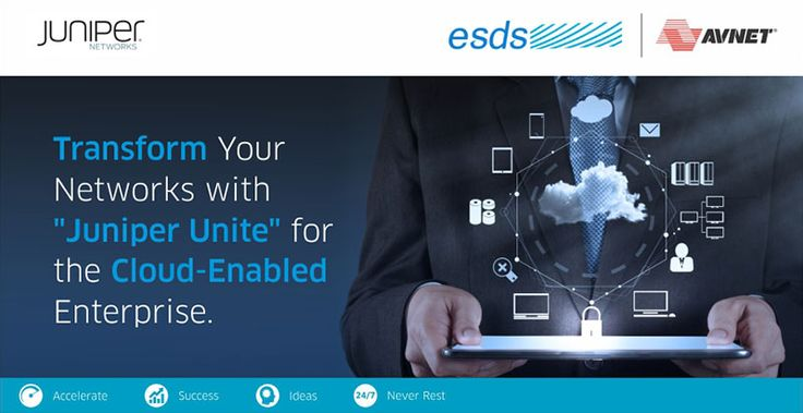 We at ESDS - Fully Managed Datacenter, cordially invite you for a joint event with Juniper on 16th March, 2016 at Pune.  For more details and registrations, please visit the following page: http://www.paarambi.com/Avnet/2016/Avnet/Juniper/Juniper-Avnet-Event-Pune-16-March-2016/emailer.html  #Cloud #Event #Cloudredefined