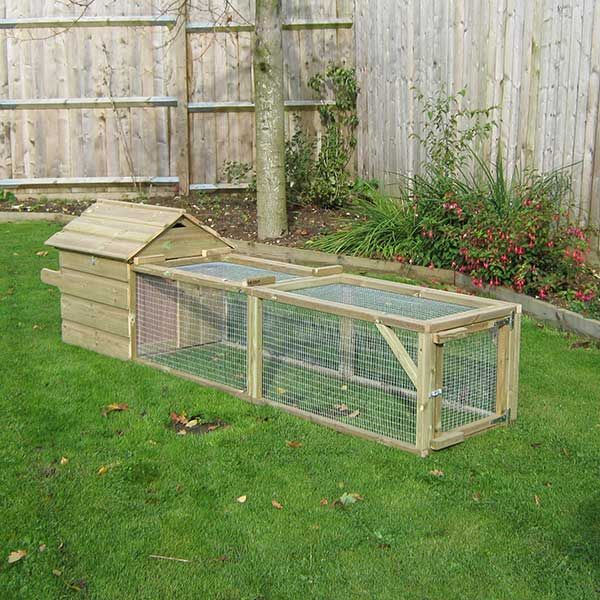 Guinea Pig House & Run - view 2