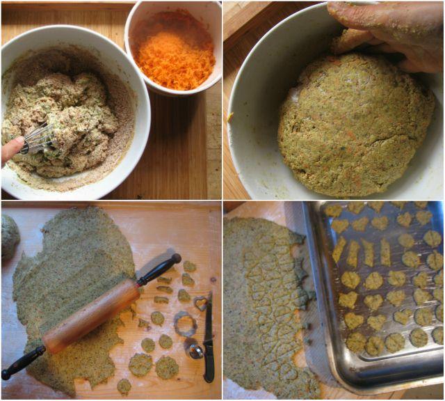 Mentás kutyakeksz recept  #kutya #keksz #menta #recept #kutyabaráthelyek #sk #diy