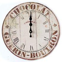 Zegar retro - sprawdź na www.przytulnie.com/zegar-chocolate-id-115.html