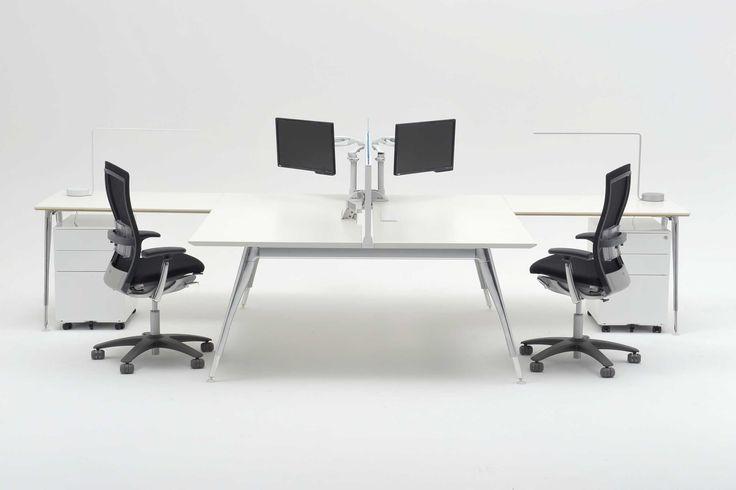 Zenith Interiors: Stiletto Workstation, office, corporate