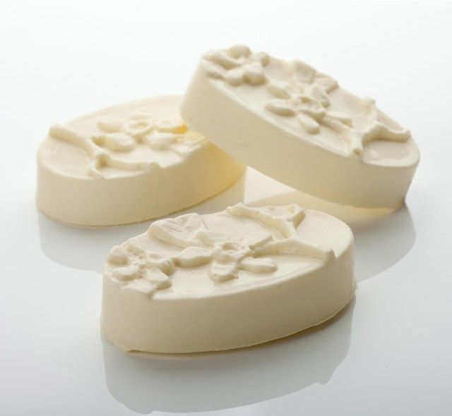 Each Peach Massage Bar NEW - aerated for a finer, more velvety texture, these massage bars are now made with Fair Trade, organic cocoa butter fro a single source. They smell heavenly and apply easily - perfect.