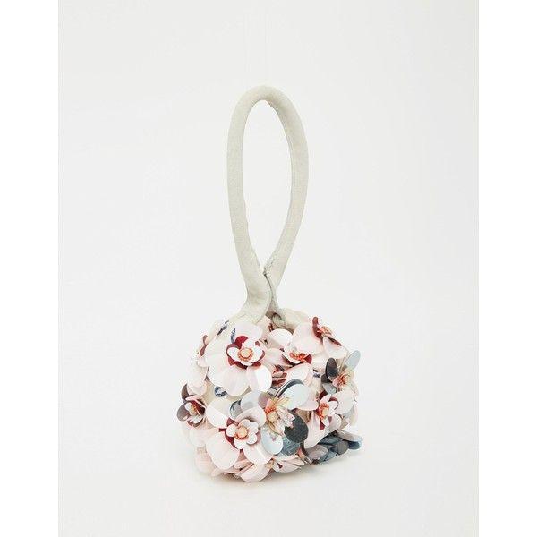 cheap yves saint laurent bags - yves saint laurent flower embellished clutch, ysl replica bags uk