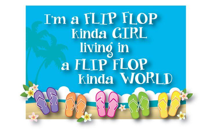 Flip Flops Quote