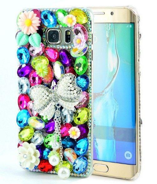 S7 caso extremo de lujo 3D Bling de la chispa del brillo del diamante Crystal Rhinestone señora Retro Bowknot volver cubierta para Samsung Galaxy S7 borde en Teléfono Bolsos y Estuches de Teléfonos y Telecomunicaciones en AliExpress.com | Alibaba Group