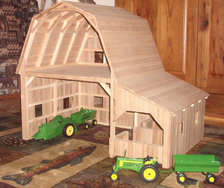32 best diy toy barns images on pinterest wood toys for How to build horse barn