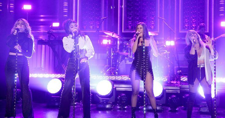 Watch Fifth Harmony, Gucci Mane's Buoyant 'Down' on 'Fallon' #headphones #music #headphones