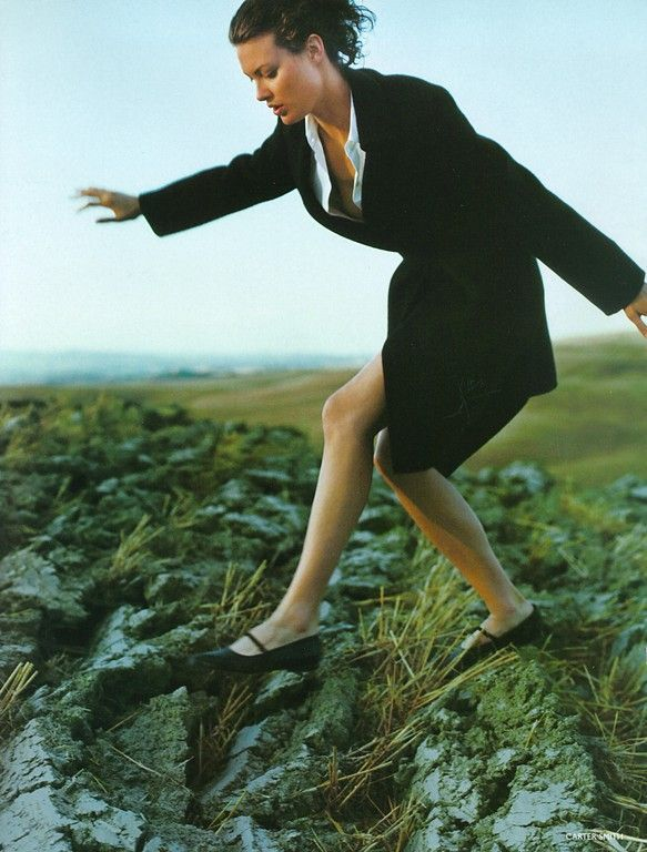 ☆ Shalom Harlow | Photography by Carter Smith | For Vogue Magazine UK | October 1997 ☆